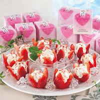 いちごのアイス,いちごを使ったアイス,花いちごのアイス,博多あまおう 花いちご,アイスクリーム,ソルベ,シャーベット,ice cream,sorbet,